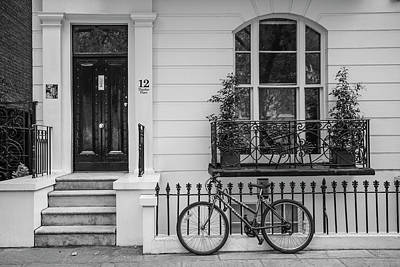 Photograph - London Bike And Stoop  by John McGraw