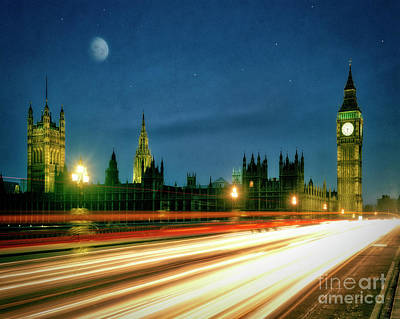 Photograph - London By Night by Edmund Nagele