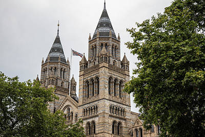 Photograph - London Natural History Museum  by John McGraw