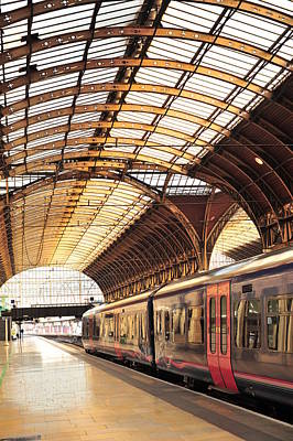 Photograph - London Paddington Rail Station by Sivarock