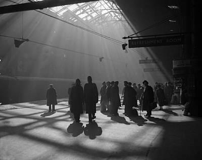Photograph - London Station by Bush