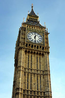 Photograph - London Time by Terri Waters