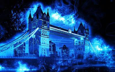 Painting - London, Tower Bridge - 01 by Andrea Mazzocchetti