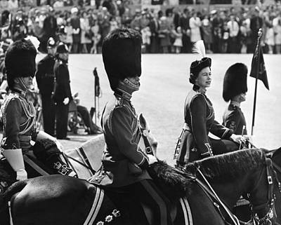 Photograph - London, Trooping The Colour Ceremony by Keystone-france