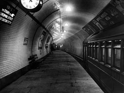 Photograph - London Underground by Topical Press Agency