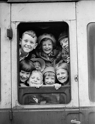 Photograph - Londons Children by Parker