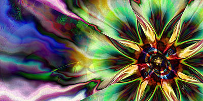 Fantasy Royalty-Free and Rights-Managed Images - Lone Flower by Kiki Art