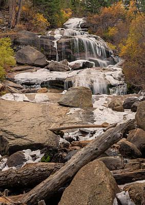 Photograph - Lone Pine Creek Falls by Loree Johnson