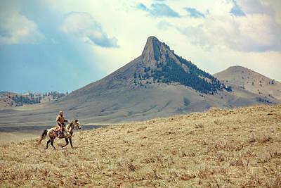 Photograph - Lone Rider by Todd Klassy