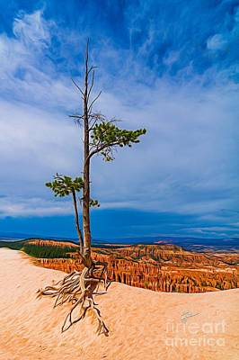 Photograph - Lone Tree In Bryce Canyon by TK Goforth