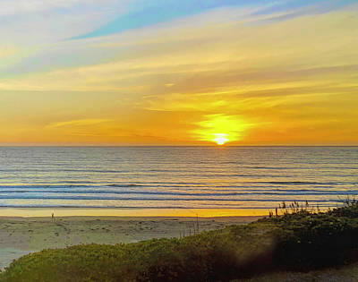 Photograph - Lonely Beach Walk Pismo Beach IIi by Barbara Snyder