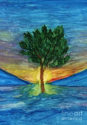 Lonely Pine Art Print