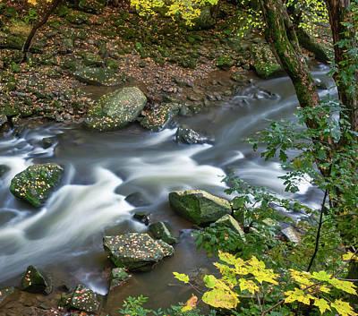 Wall Art - Photograph - Long Exposure, Downstream From Berea Falls by Martin Belan