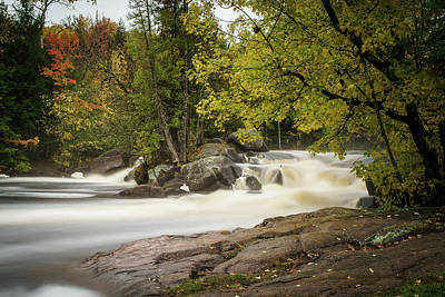 Photograph - Long Exposure Falls by David Heilman
