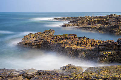 Photograph - Long Exposure Howick by David Taylor