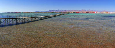 Photograph - Long Jetty In Nabq Bay by Sun Travels