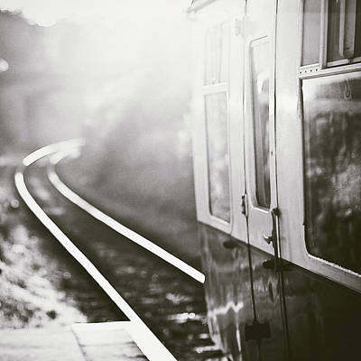Transportation Wall Art - Photograph - Long Train Running by James Homer