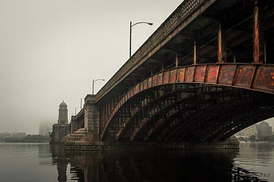 Photograph - Longfellow Bridge I Color by David Gordon