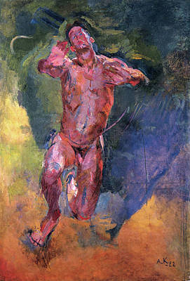 Painting - Longing by Anton Kolig