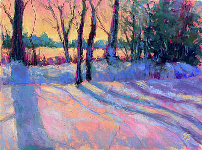 Painting - Longing For Spring by Susan Jenkins