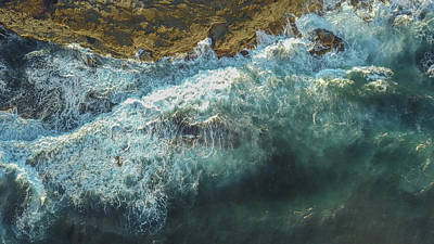 Photograph - Longreef Waves by Chris Cousins