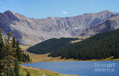 Photograph - Longs Peak Colorado by Steven Liveoak