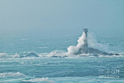 Photograph - Longships In The Storm by Terri Waters