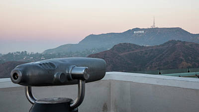 Photograph - Looking At Hollywood Sign  by John McGraw