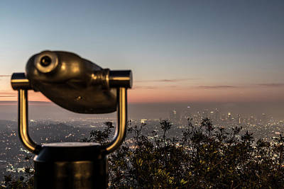 Photograph - Looking At Los Angeles  by John McGraw