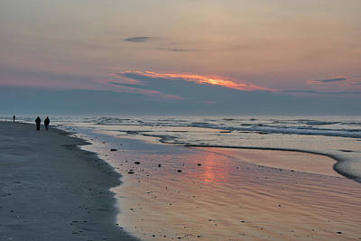 Photograph - Looking For The Sunrise - Wildwood Crest by Bill Cannon