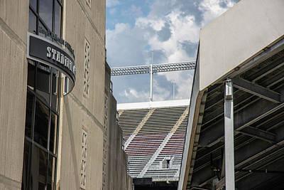 Photograph - Looking Into Ohio Stadium  by John McGraw