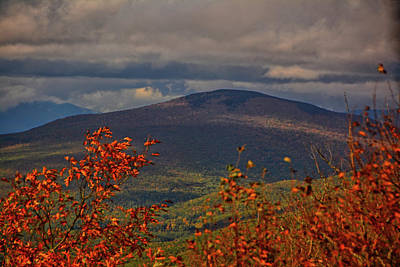 Photograph - Looking Into Vermont From Mount Greylock 1 by Raymond Salani III