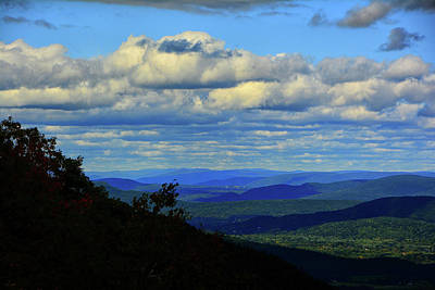 Photograph - Looking North With Cool Clouds by Raymond Salani III