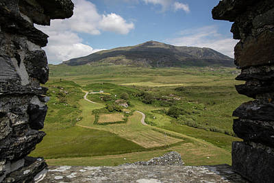 Photograph - Looking Out Dolwyddelan Castle Wales by John McGraw