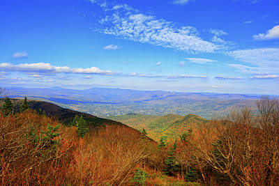Art Print featuring the photograph Looking Towards Vermont And New Hampshire by Raymond Salani III