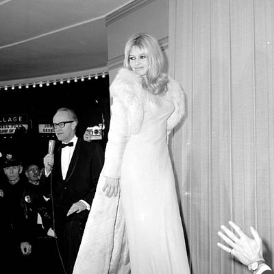 Photograph - Looking Tres Chic, Brigitte Bardot by New York Daily News Archive