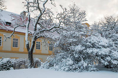 Photograph - Loreta Building In Snowy Winter by Jenny Rainbow