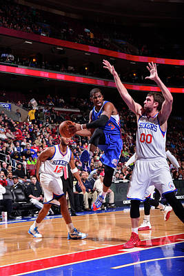 Photograph - Los Angeles Clippers  V. Philadelphia by David Dow