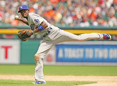 Photograph - Los Angeles Dodgers V Detroit Tigers by Duane Burleson