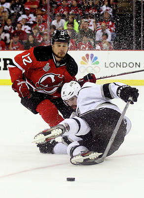 Photograph - Los Angeles Kings V New Jersey Devils - by Elsa