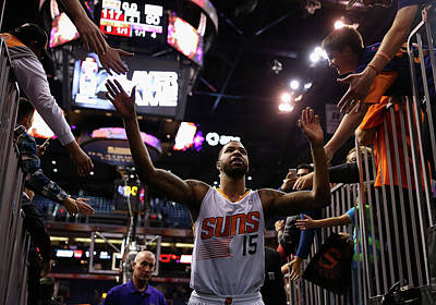 Photograph - Los Angeles Lakers V Phoenix Suns by Christian Petersen