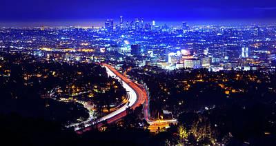 Digital Art - Los Angeles by Tanel Murd
