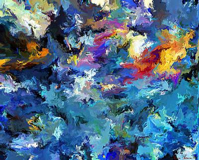 Digital Art - Lost Colors by Rein Nomm