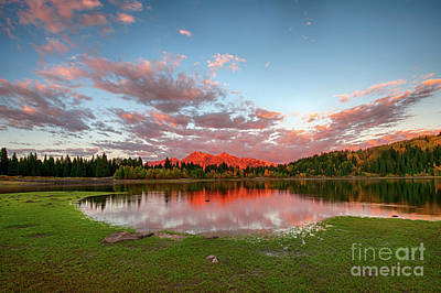 Photograph - Lost Lake Sunset by Joe Sparks