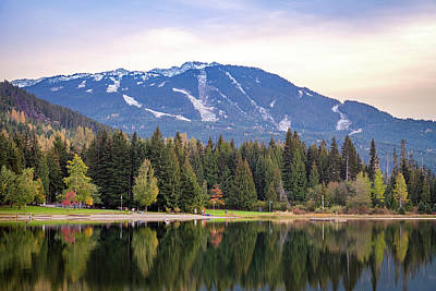 Photograph - Lost Lake, Whistler, Bc, Canada 2 by Art Calapatia