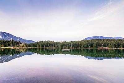 Photograph - Lost Lake, Whistler, Bc, Canada 4 by Art Calapatia