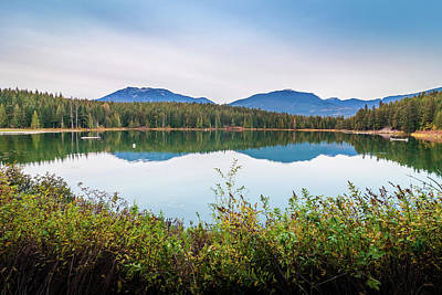 Photograph - Lost Lake, Whistler, BC, Canada 5 by Art Calapatia