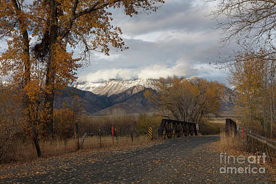 Photograph - Lost River Bridge by Idaho Scenic Images Linda Lantzy