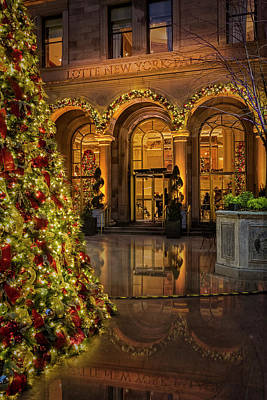 Photograph - Lotte New York Palace Hotel by Susan Candelario