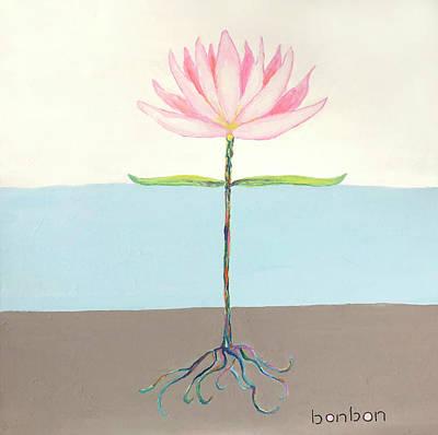 Painting - Lotus by Bonnie Owen